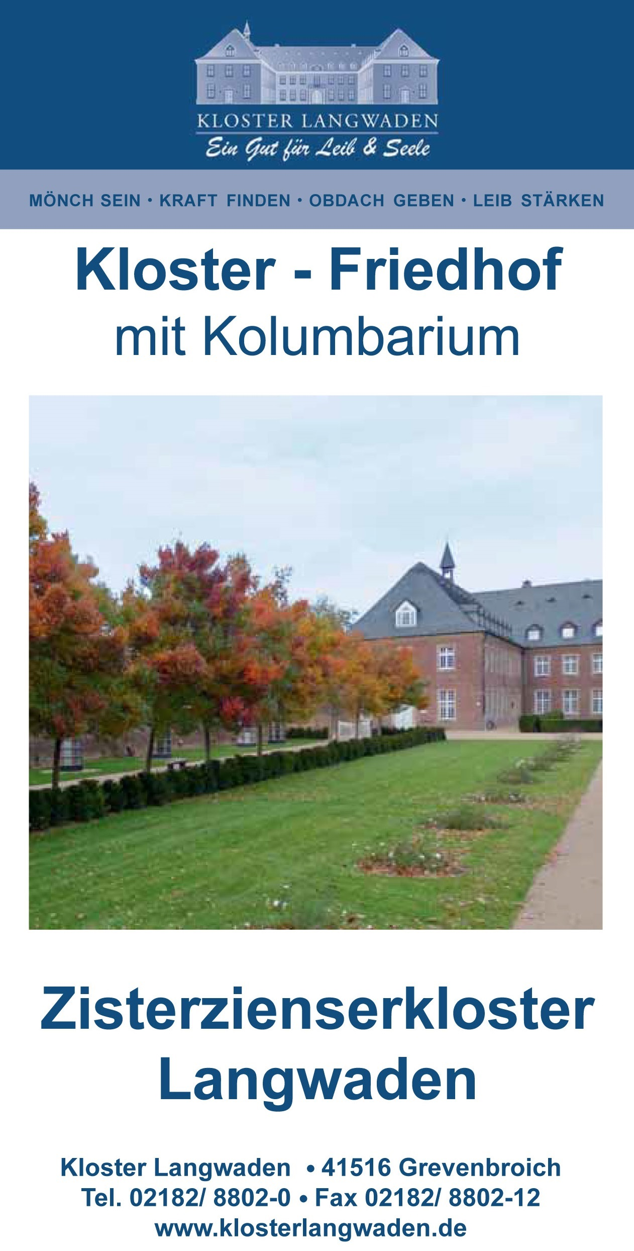 KL 7131 Flyer Kolumbarium 1